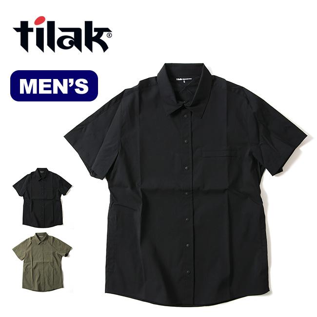 ティラック ナイトシャツ SS tilak KNIGHT Shirts S/S メンズ 半袖シャツ 半袖 トップス <2020 春夏>