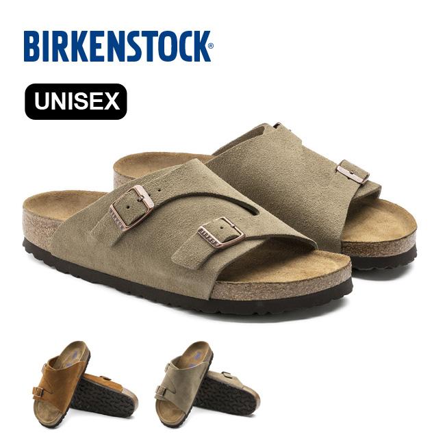 ビルケンシュトック チューリッヒ SFB ユニセックス[SUEDE] BIRKENSTOCK Zurich Soft Footbed UNISEX レディース メンズ サンダル <2020 春夏>