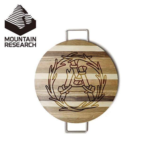 マウンテンリサーチ ラウンドボード Mountain Research Round Board 3082 まな板 木製 カッティングボード 調理器具 料理 キャンプ アウトドア 【正規品】