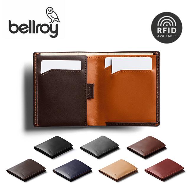 ベルロイ ノートスリーブ RFID bellroy Note Sleeve RFID BRWNSC 財布 二つ折り ウォレット 革 本革 メンズ財布 ミニマリスト <2020 春夏>