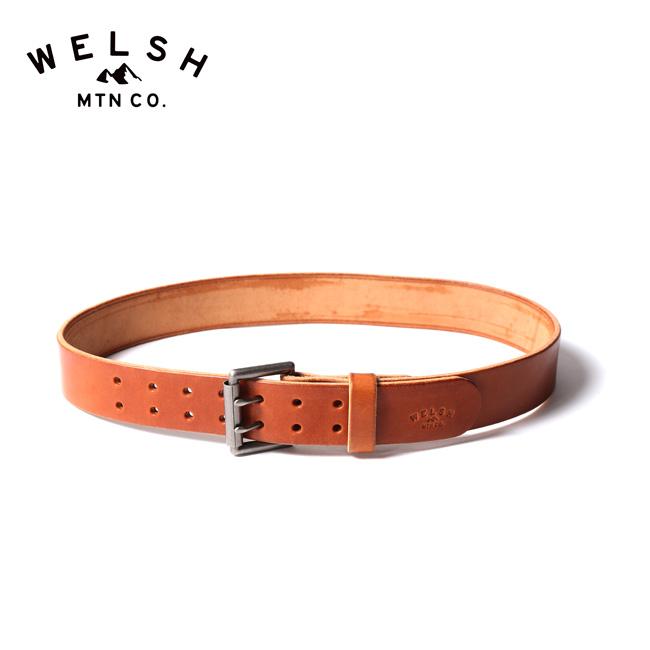 ウェルッシュマウンテン ダブルタンベルト Welsh Mtn Co. Double tan belt 20WM021 ベルト アクセサリー <2020 春夏>