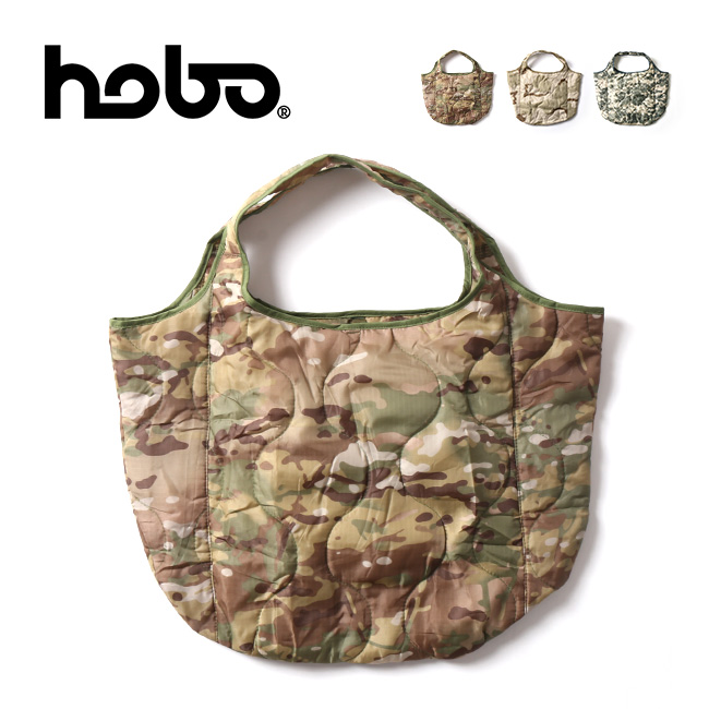 ホーボー キルティングポリエステルトートバッグスモール hobo QUILTED POLYESTER TOTE BAG SMALL HB-BG3225 トートバッグ トート エコバッグ 買い物バッグ 鞄 <2020 秋冬>