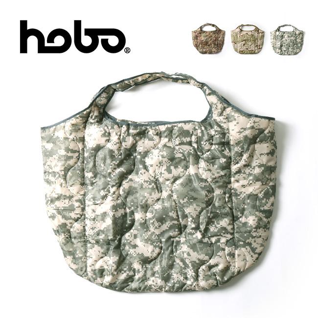 ホーボー キルティングポリエステルトートバッグ hobo QUILTED POLYESTER TOTE BAG HB-BG3226 トートバッグ トート エコバッグ 買い物バッグ 鞄 <2020 秋冬>
