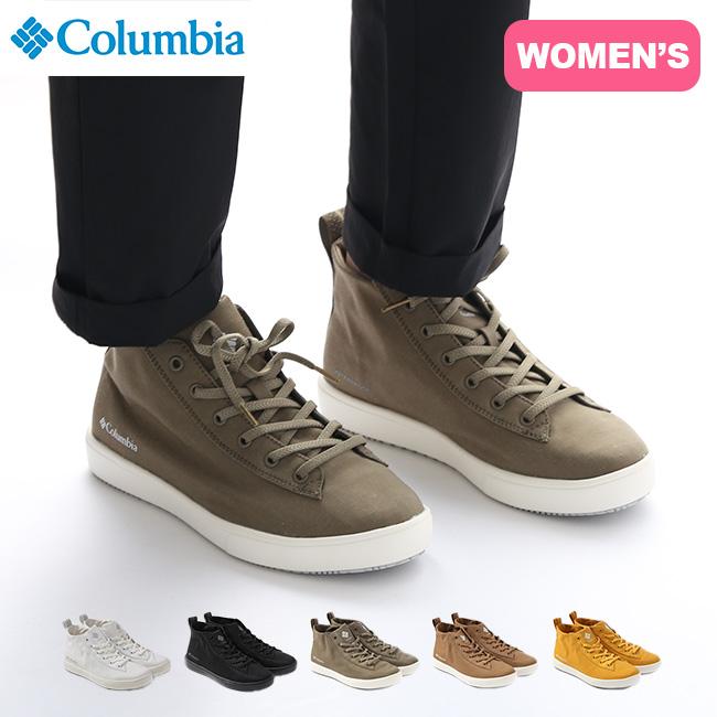 コロンビア マイレイジレインミッドウォータープルーフ Columbia Myleage Rain MID Waterproof レディース YL0749 靴 スニーカー 防水 ハイカット Escape with Columbia <2020 秋冬>