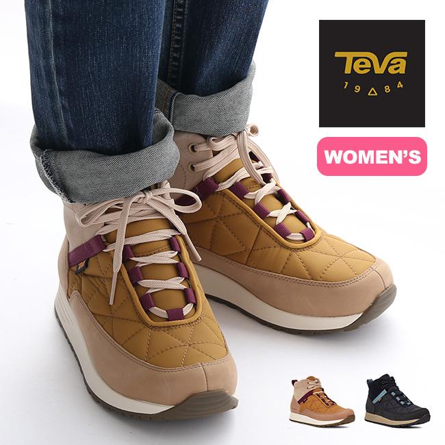 テバ エンバーコミュートWP TEVA EMBER COMMUTE WP レディース ウィメンズ 1111779 靴 スニーカー シューズ 撥水 ミッドカット <2020 秋冬>