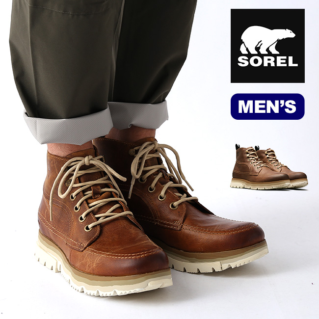 ソレル アトリスチャッカ メンズ SOREL Atlis Chukka WP 靴 シューズ ブーツ アウトドア <2020 秋冬>