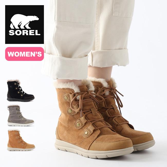 ソレル ソレルエクスプローラージョアン【ウィメンズ】 SOREL Sorel Explorer Joan レディース ブーツ スノーブーツ アウトドア <2020 秋冬>