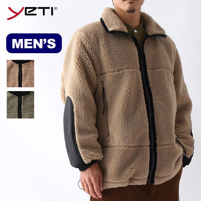 2020 秋冬 イエティ ボアオーバージャケット Yeti BOA OVER JACKET トップス 受注生産品 正規品 フリース YU45003 ジャケット 開店祝い メンズ アウター