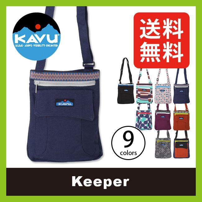주식-키퍼 KAVU Keeper 숄더백 숄더 파우치 정규품 타운 유스 아웃도어 맨즈 레이디스 남녀 겸용