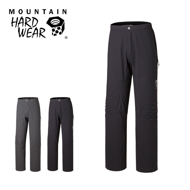 マウンテンハードウェア コヒージョンパンツV.4  Mountain Hardwear 防風防水シェルパンツ ベンチレーション 止水ファスナー 3シーズン 残雪 春スキー 夏山 登山 アウトドア Cohesion Pants V.4