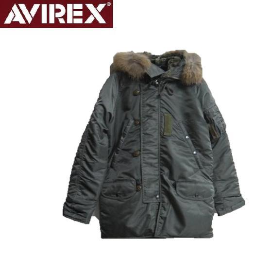 セールAVIREXアビレックス★ヴィンテージモデルN-3B VINTAGE N3B MIL-J-6279D 6142180☆(アヴィレックス)
