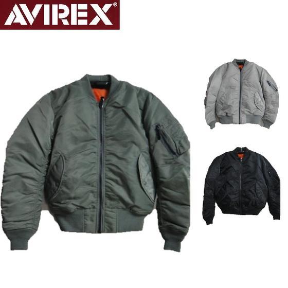 セールAVIREX☆MA-1 COMMERCIAL フライトジャケット6132077☆AVIREXアビレックス