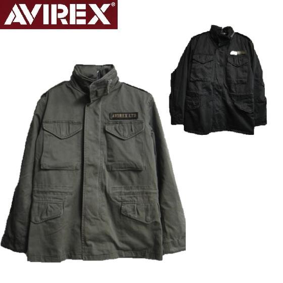 AVIREX☆定番M-65ミリタリーフィールドジャケットBASIC M65 JACKET☆6122081(アビレックス)