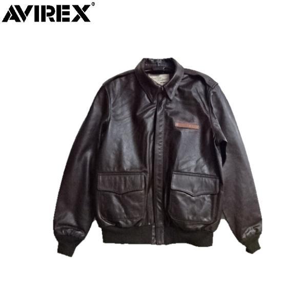 セールAVIREX アヴィレックスプレーンA-2レザージャケット PLAIN 6181061 アビレックス