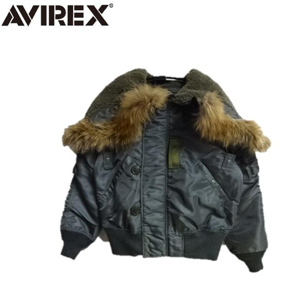 AVIREXアビレックス メンズ ヴィンテージモデルN-2B VINTAGE N2B MIL-J-6278D 6182218(アヴィレックス)