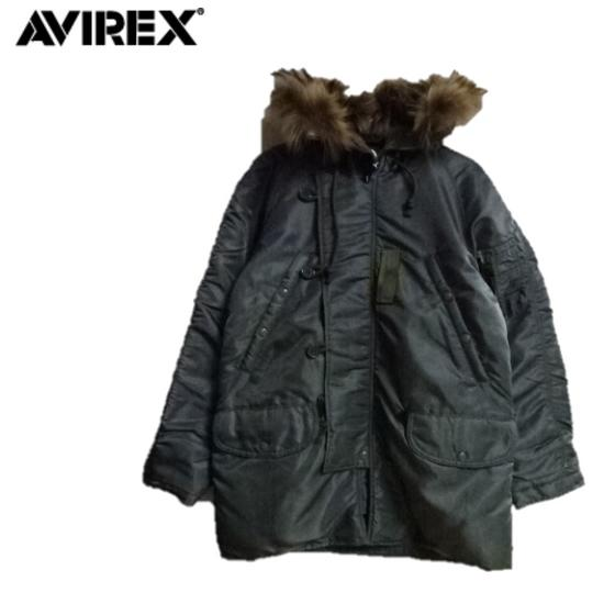 AVIREXアビレックス ヴィンテージモデルN-3B VINTAGE N3B MIL-J-6279D 6182220☆(アヴィレックス)