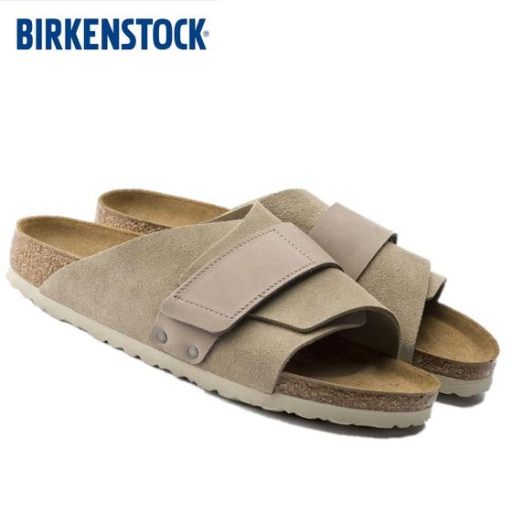 BIRKENSTOCK KYOTO (キョウト)トープ(メンズ)TAUPE SUEDE LEATHER/NUBUCK(ビルケンシュトック)1015572 Made in Germany(ドイツ製)