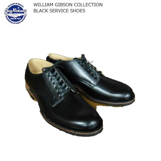 Buzz Rickson's ブラックサービスシューズBLACK SERVICE SHOES WILLIAM GIBSON COLLECTION BR02146バズリクソンズウィリアムギブソンコレクション