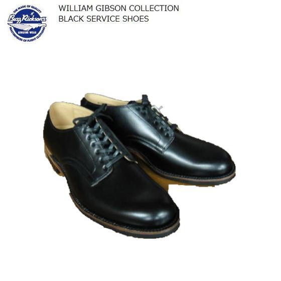 Buzz Rickson's ブラックサービスシューズBLACK SERVICE SHOES WILLIAM GIBSON COLLECTION BR02146バズリクソンズウィリアムギブソンコレクション