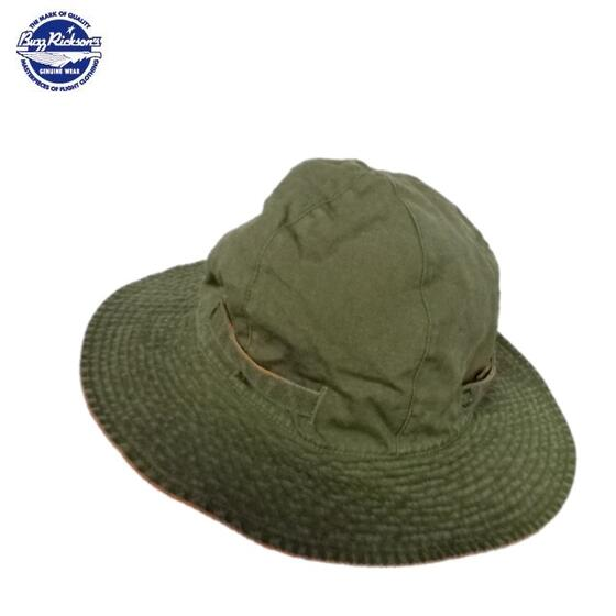 Buzz Rickson'sリバーシブル サン・ハット日本製 HAT REVERSIBLE SUN BR02618(バズリクソンズ)BuzzRickson's Made in Japan