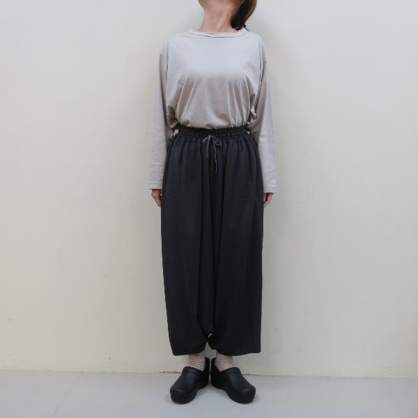 まとめ買い特価 再入荷 -多くの人に喜ばれる洋服を-FACTORYファクトリー FACTORY P-10ファクトリー バンブーウール 本物 サルエルパンツ