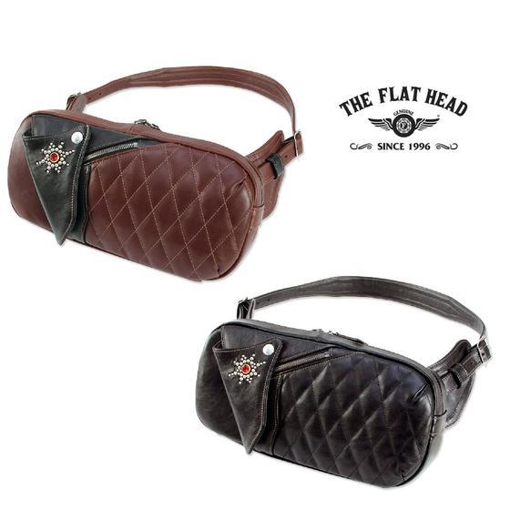 FLAT THE HEAD☆1.3mmホースハイドレザーボディバッグBODY BAG HDB-003(フラットヘッド)FLATHEAD