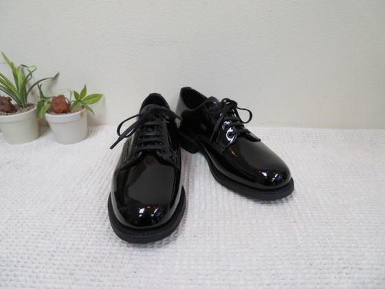 【SANDERS】1522 Female Plain Toe Patent Leather BLACKラバーソール パテントブラック(サンダース)【smtb-k】