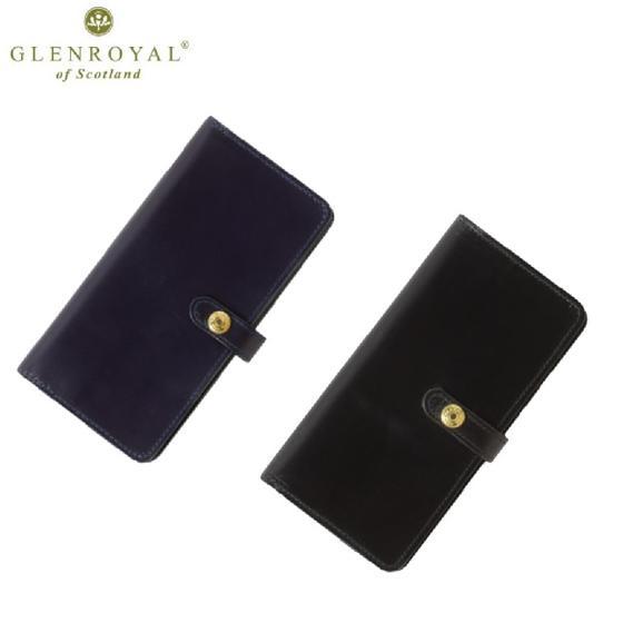 GLENROYAL☆ラウンドロングパース(財布)レザーウォレットROUND LONG PURSE (フルブライドル)グレンロイヤル
