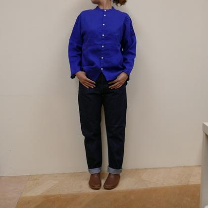 ORDINARY FITS★NEW ROOL UP 5P DENIM one wash・OM-P122OW(オーディナリーフィッツ)