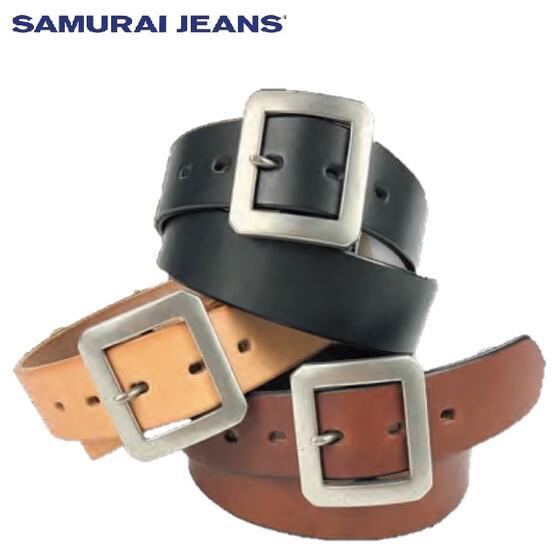 再入荷 SAMURAI JEANS サムライジーンズ通販 A101-01国産ベンズレザーベルト #サムライジーンズ セットアップ 安心の正規販売店 安心の実績 高価 買取 強化中