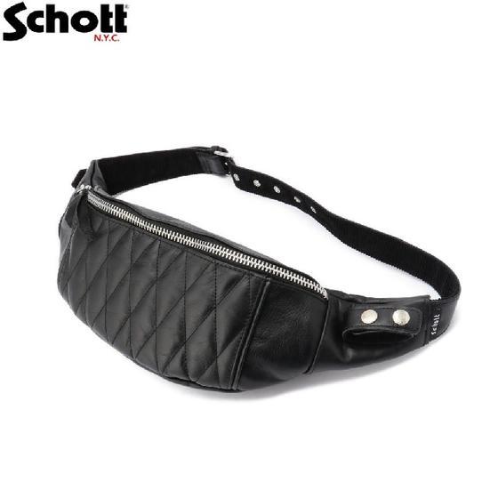 Schott パデッドレザーボディバッグ PADDED BODY BAG 3109023☆ショット【smtb-k】