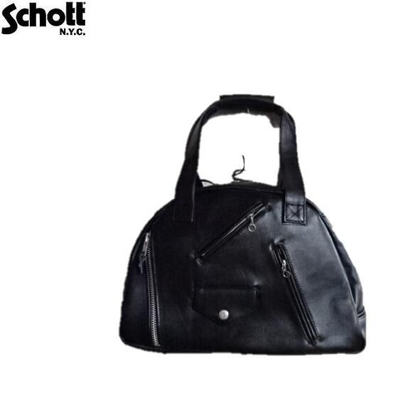 Schott レザーライダースボストンバッグLEATHERRIDERS BOSTON BAG 3109069ショット