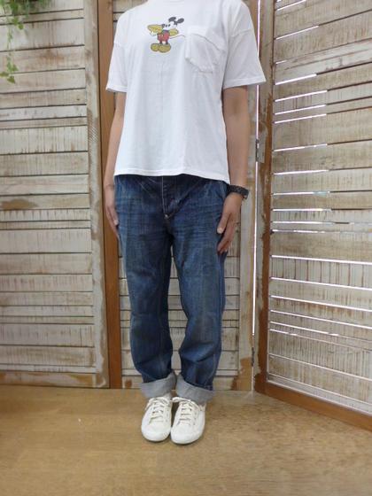 【Veritecoeur】ST-021 玉縁ポケットストレートデニムST021(ヴェリテクール)(ラクーポン対象外) 【smtb-k】