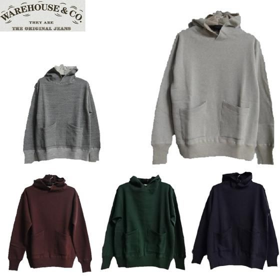 WAREHOUSE☆Lot.453 DUCK DIGGER セパレートポケットセットインフード SEPARATE POCKET SET IN FOOD★WHSW-15AW017(スウェットパーカー)(ウエアハウス)WARE HOUSE【ウェアハウス】