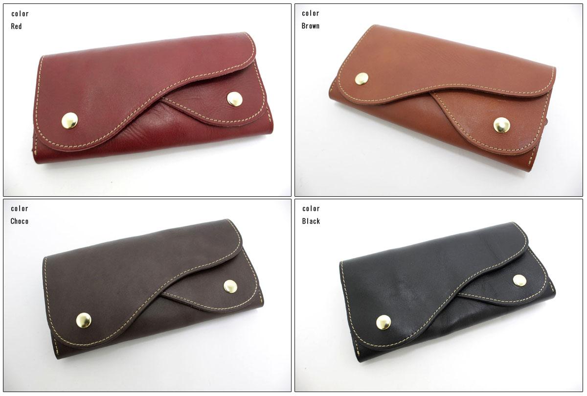 ●Hawk Company 【ホークカンパニー】 三つ折りロングウォレット 長財布 3398