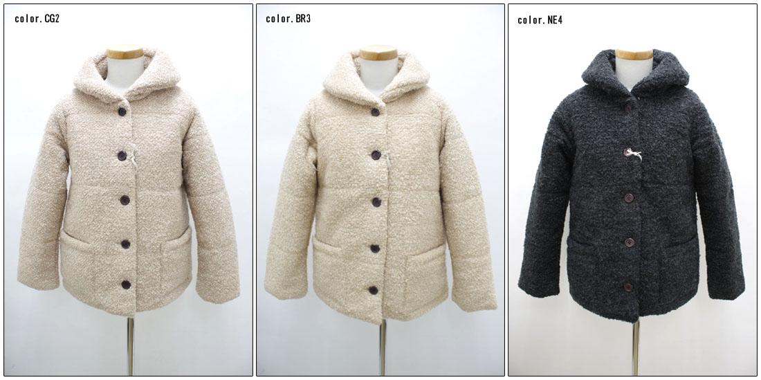 ●SUN VALLEY 【サンバレー】 ブークレー中綿キルティングジャケット SE-81336