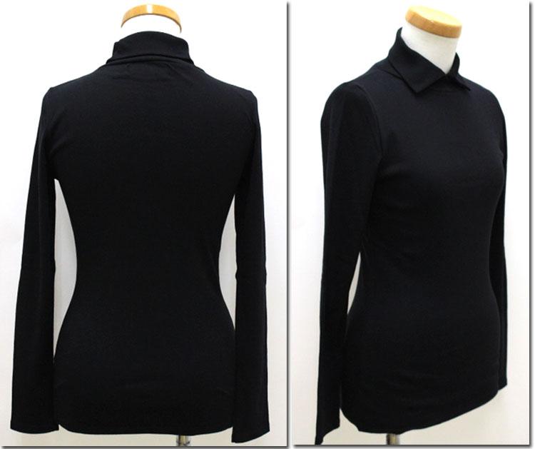 CHANTECLAIRシャントクレールポロカラーロングTシャツ フランス製 BI5117323 CC23EY92eDHWI