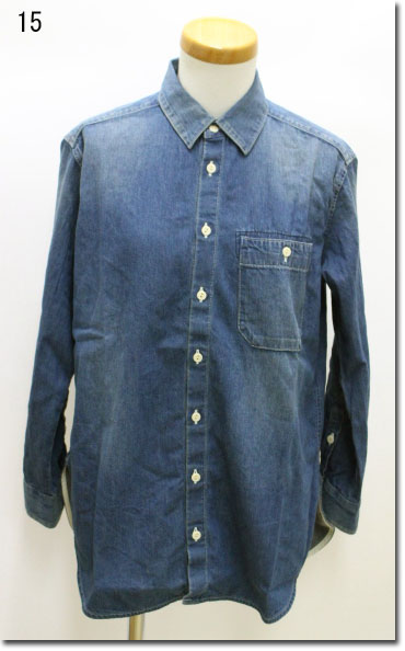 ●Johnbull 【ジョンブル】 ユーロワークシャツ AS882