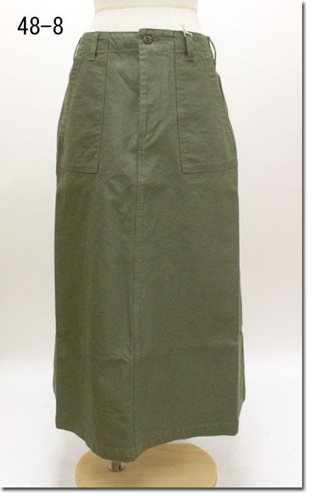 ●(Rakupon対象外)D.M.G. 【ドミンゴ】 ベイカーオールドスカート 17-409T