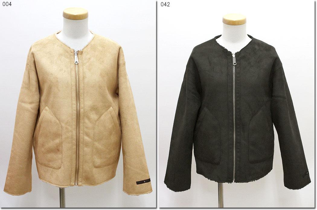 ●Johnbull 【ジョンブル】 リバーシブルムートンブルゾン ジャケット AH055