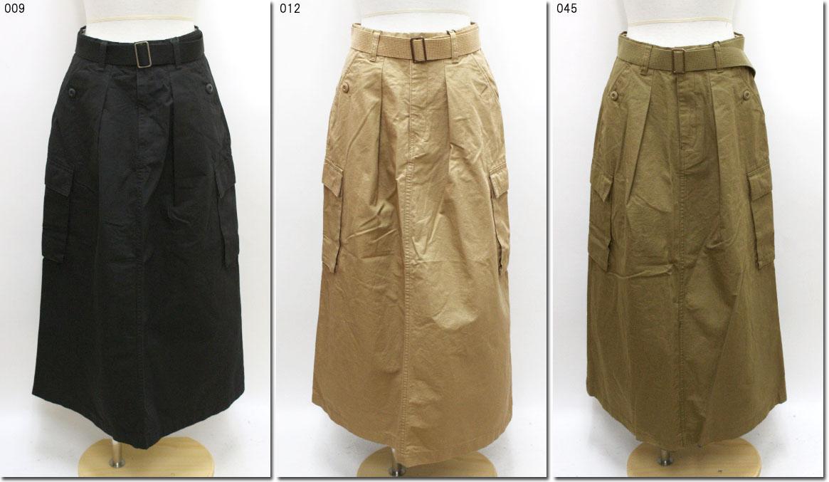 ●RNA【アールエヌエー】 リップストップミリタリースカート G-0954