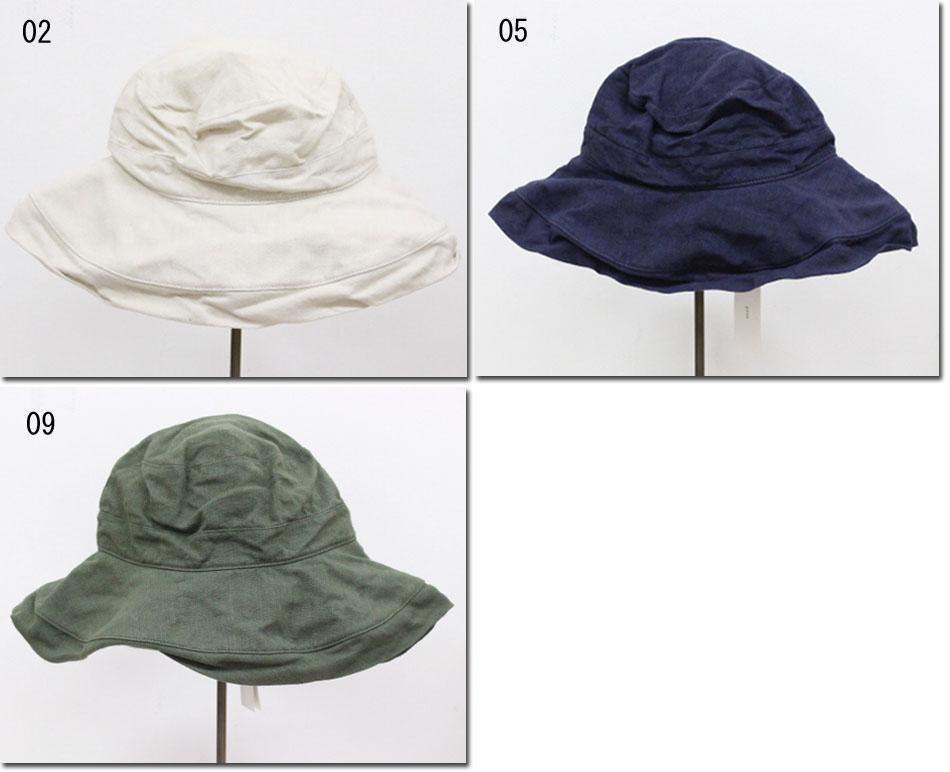 ●prit  【プリット】 リネンキャンバス キャペリンハット 帽子 01921