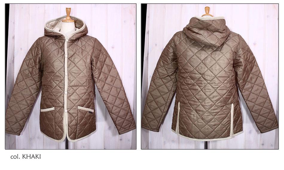 ●LAVENHAM 【ラベンハム】 キルティングフードジャケット CRAYDON 28800 VARH
