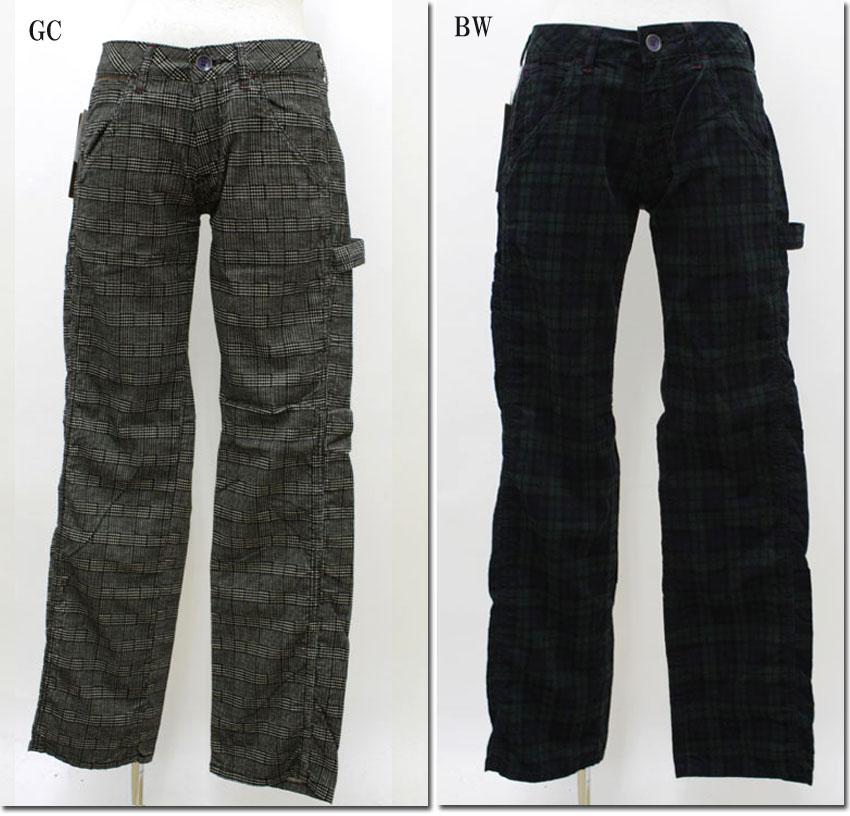 ●Betty Smith 【ベティスミス】 コールチェックガチャパンツ  BAW2066E:CANSASS jeans