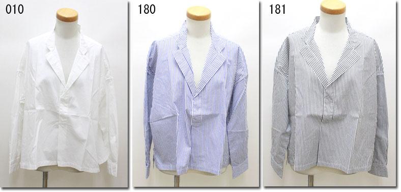 ●UNIVERSAL TISSU 【ユニヴァーサルティシュ】 ヘンリーテーラーイージーシャツ UT163SH009