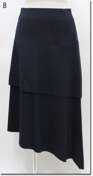 ●Ultora 【ウルトラ】 ジャージーティアードスカート  650070