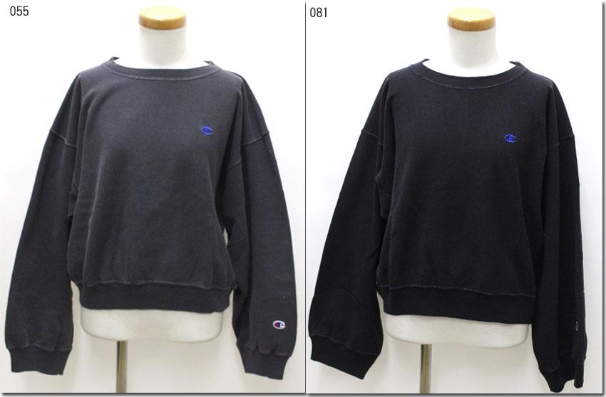 ●Champion  【チャンピオン】 リバースウィーブ クルーネックスウェットシャツ 硫化染色 トレーナー CW-P006