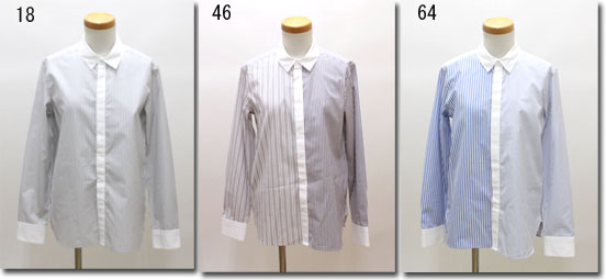 ●MACPHEE 【マカフィー】 スタンダードシャツ fabric from England 12-01-65-01301-HN