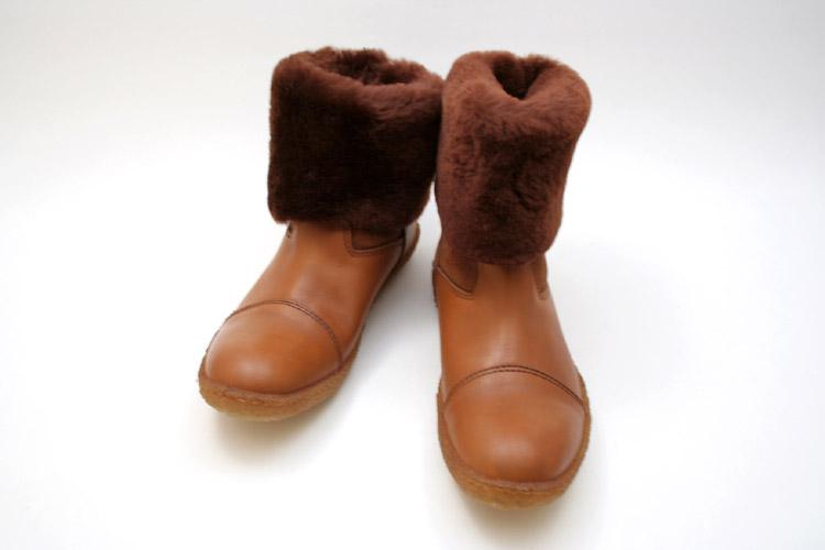 ●Punto Pigro 【プントピグロ】 2WAYシープスキンムートンブーツ Lady Boots