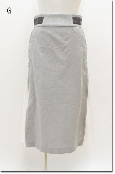 ●Srieee 【シュリ】 サイドジップAラインスカート   04-930070